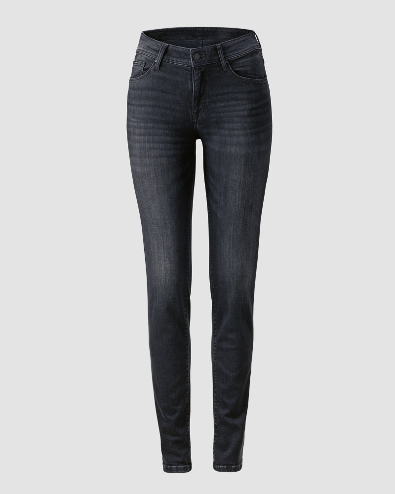 RÖHRENJEANS N IN USED-WASCHUNG