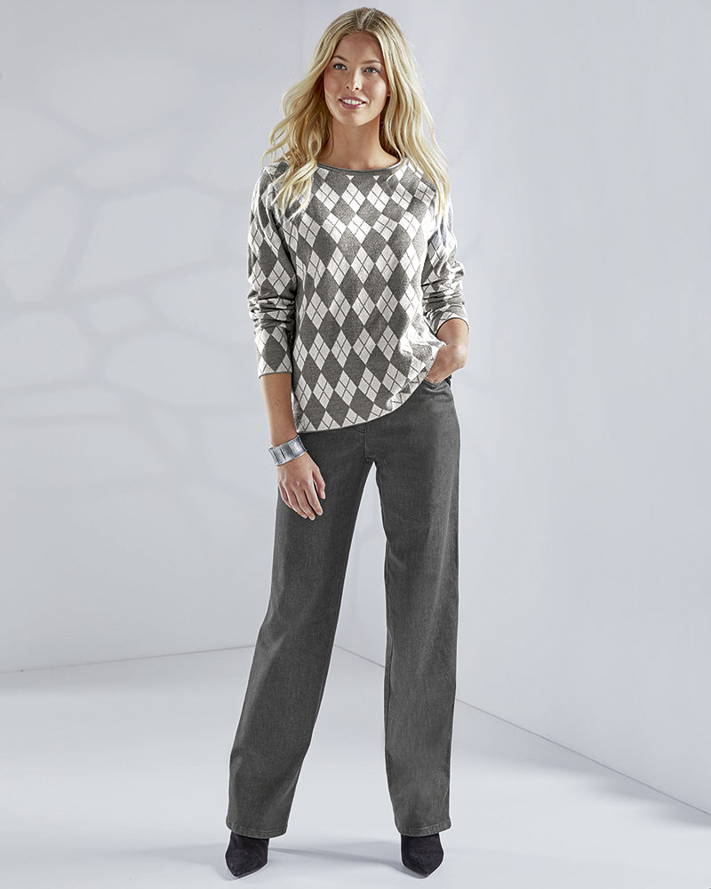 EXTRAWEITE STRETCHJEANS L
