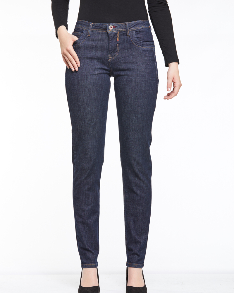 JEANS L IN RINSED-WASCHUNG